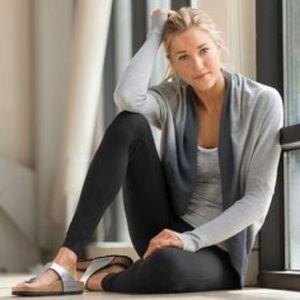 Athleta Monterey Wrap Open Cardigan Sweater XS